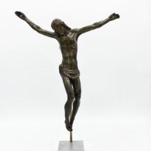 Christ en bronze italien, 17ème siècle