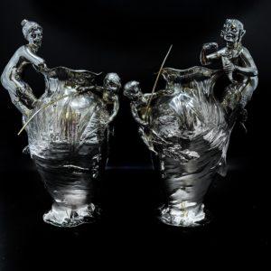 Paire de vase Art nouveau WMF
