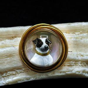 Essex cristal, monture en or, milieu 19 ème